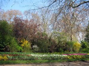 hyde park in spring